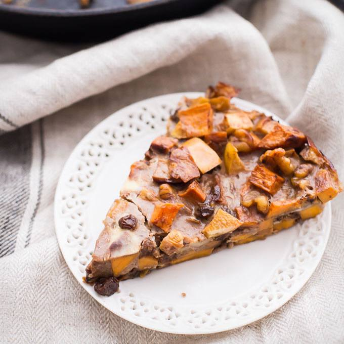 Paleo Sweet Potato Apple Breakfast Bake