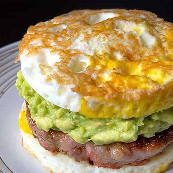 "Sausage Egg ""McMuffin"""