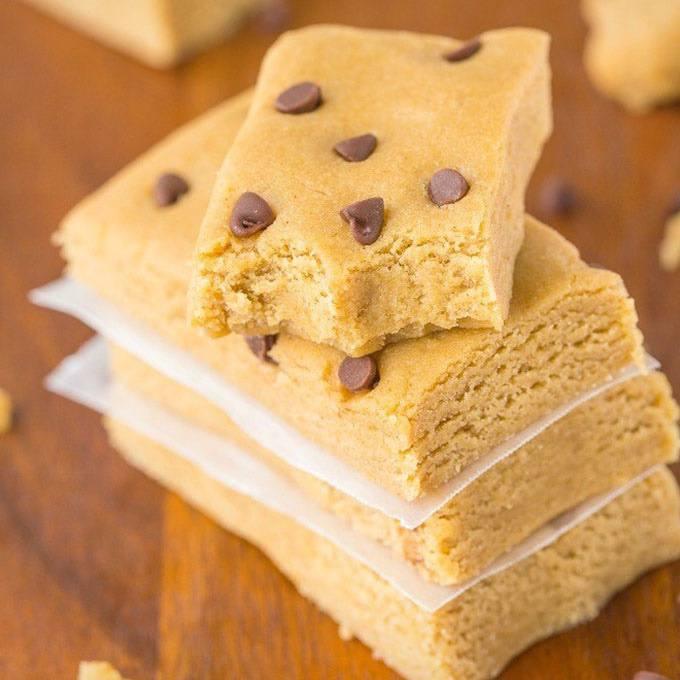 3-Ingredient No Bake Paleo Protein Bars