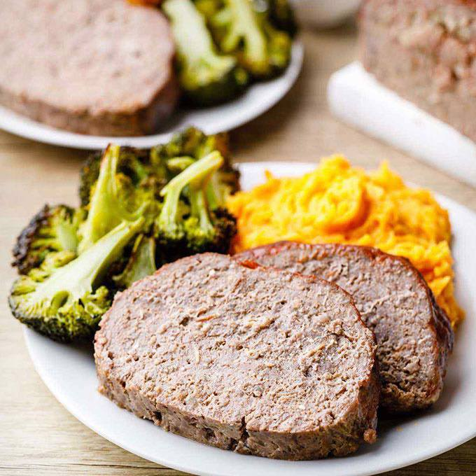 7-Ingredient Paleo Meatloaf