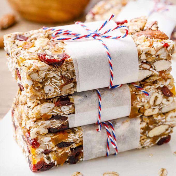Almond Butter Paleo Granola Bars