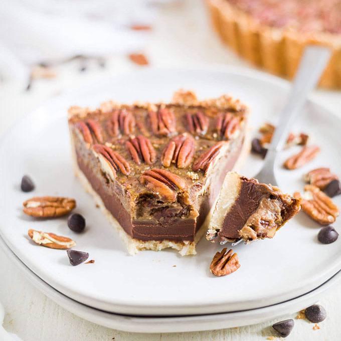 Chocolate Paleo Pecan Pie