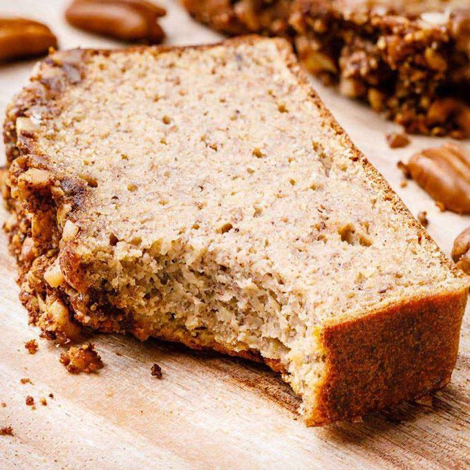 Coffee Cake Banana Bread with Crumble Top