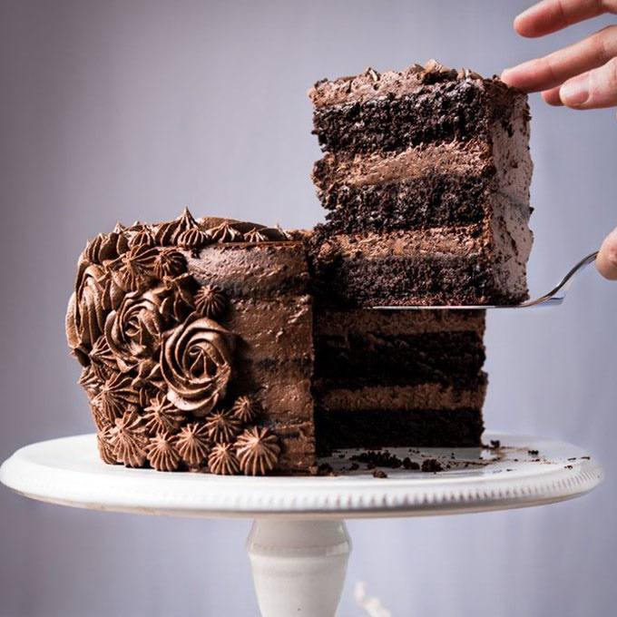 Easy Chocolate Layer Cake
