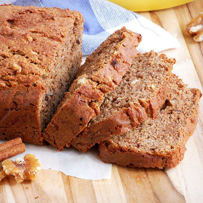 Easy Paleo Banana Nut Bread