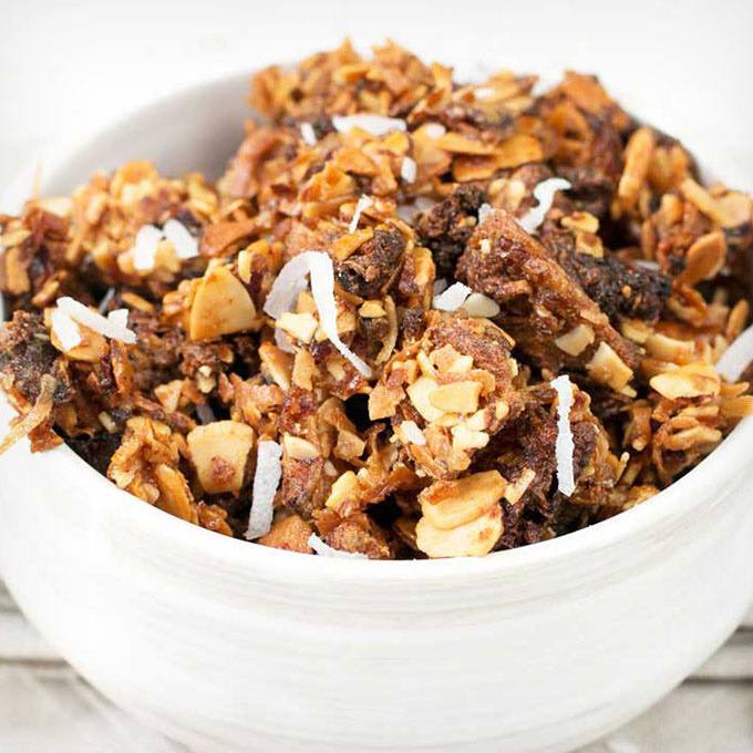 Fat Burning Tropical Paleo Granola