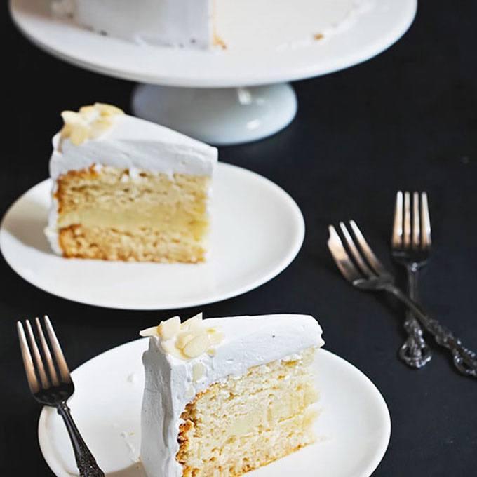 Heavenly Vanilla Cake