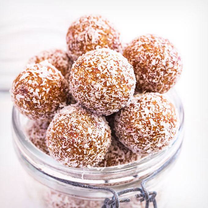 No-Bake Apricot Energy Balls