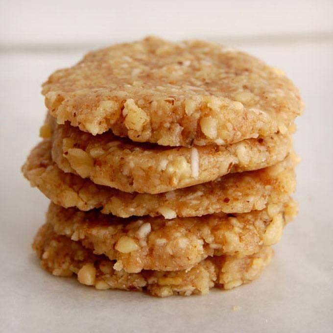 No-Bake Walnut Cookies