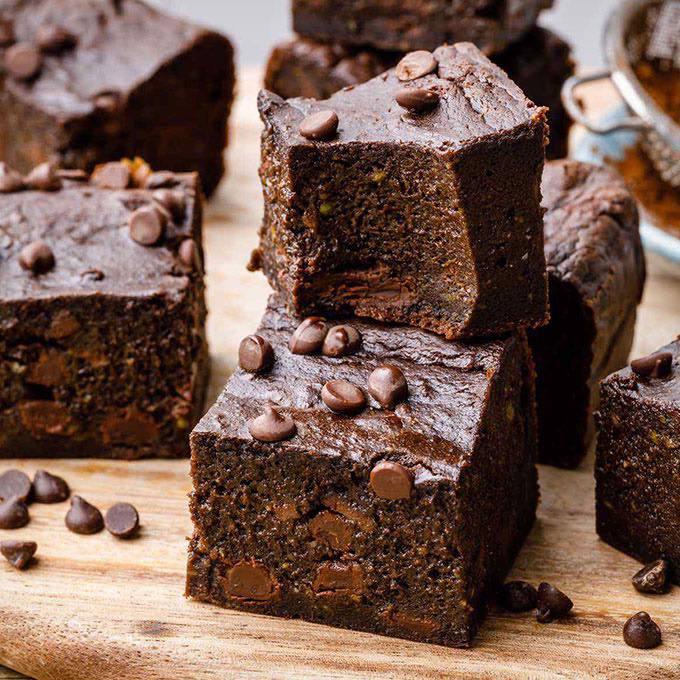 The Best Paleo Avocado Brownies
