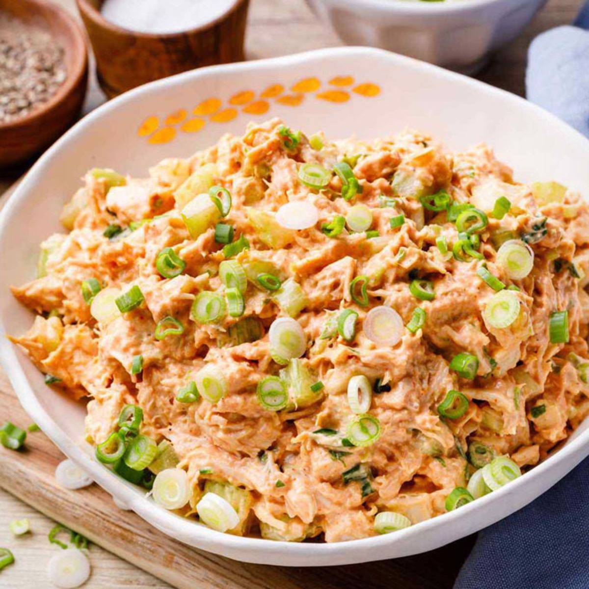 The Most Addictive Buffalo Chicken Salad