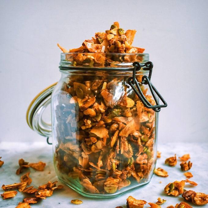 Vanilla Cinnamon Paleo Granola