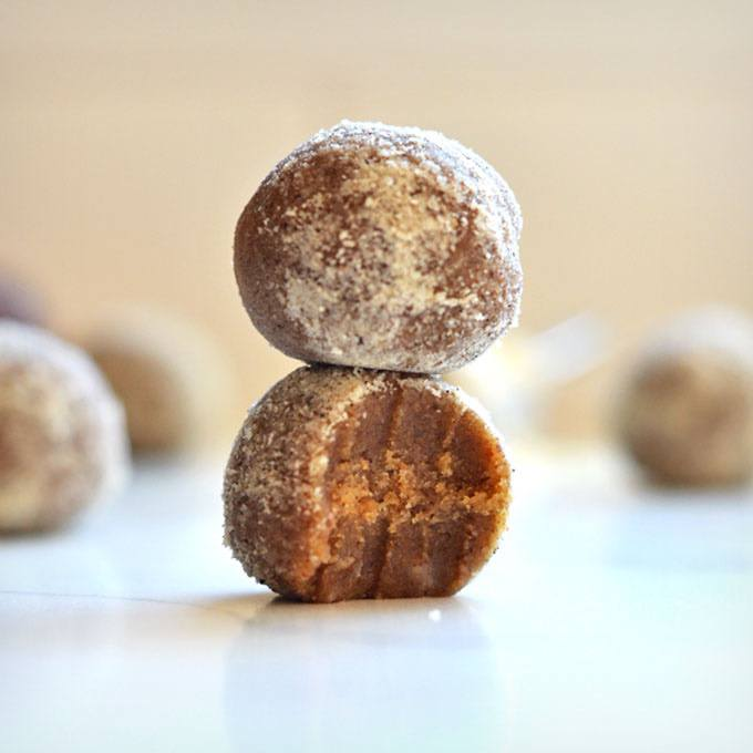 Vanilla Shortbread Energy Balls