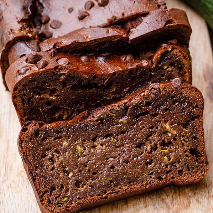 Zucchini Brownie Bread