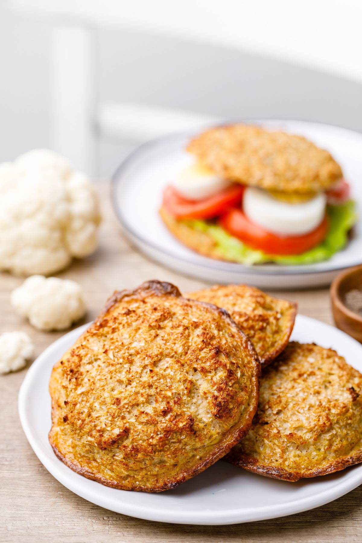 Home.fit cauliflower-bread-buns-4 Low Carb Cauliflower Bread Buns