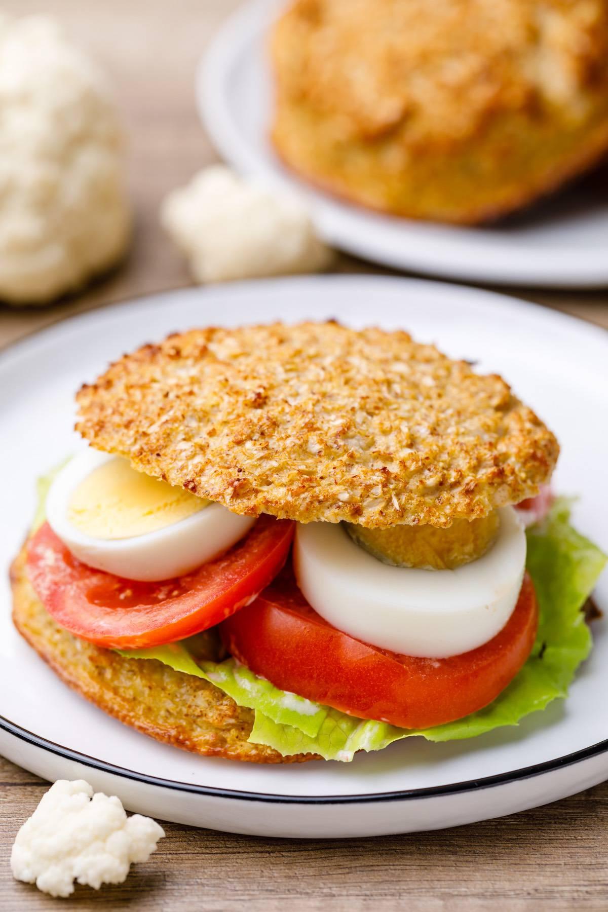 Home.fit cauliflower-bread-buns-6 Low Carb Cauliflower Bread Buns