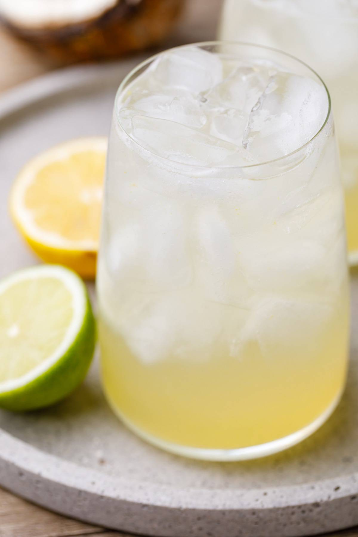 lemon lime soda electrolyte drink