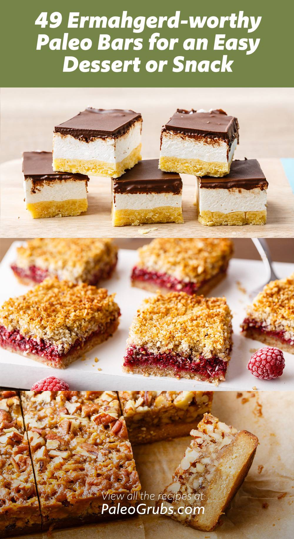 49 Ermahgerd-worthy Paleo Bars for an Easy Dessert or Snack