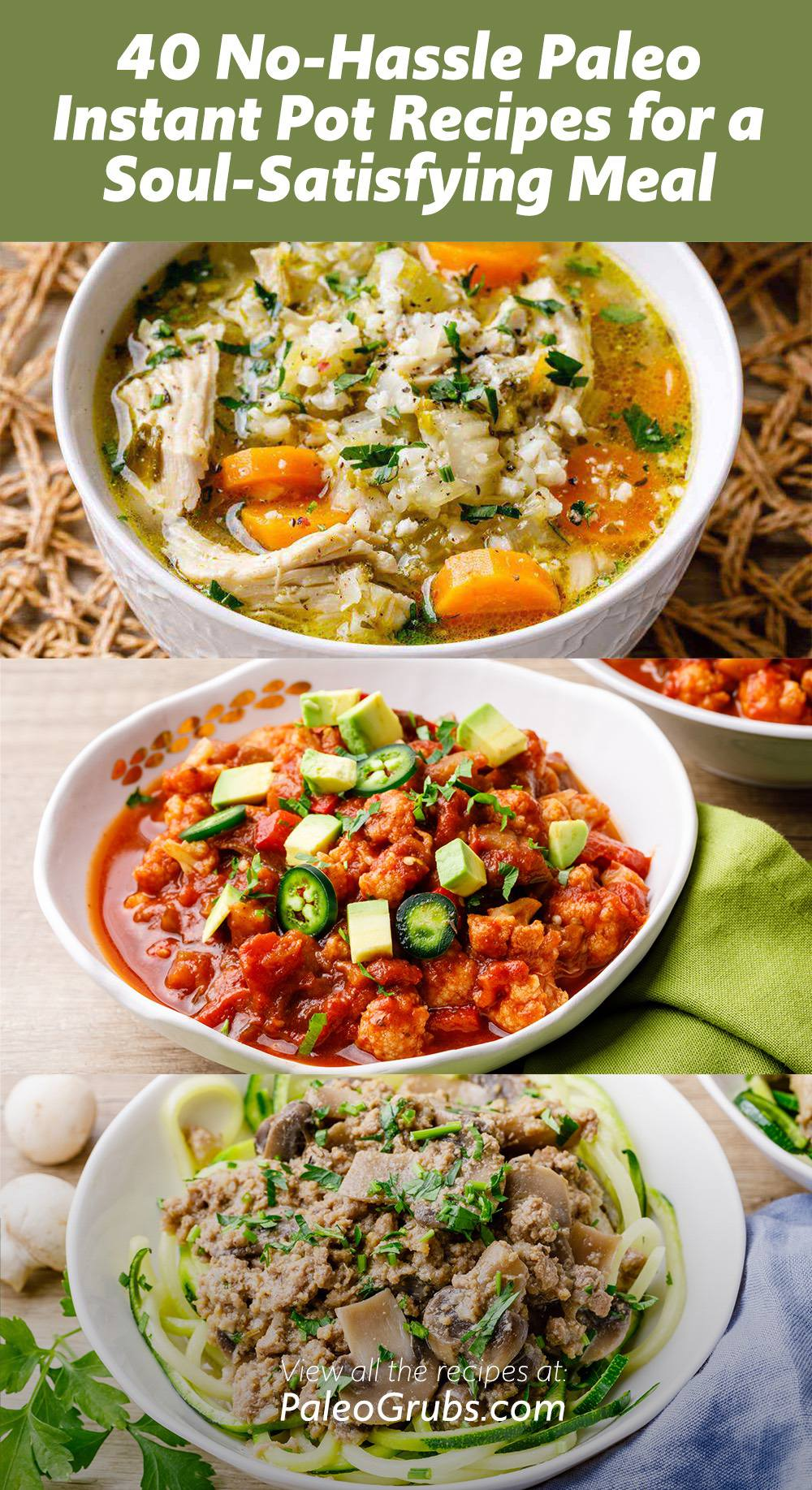 40 No-Hassle Paleo Instant Pot Recipes for a Soul-Satisfying Meal