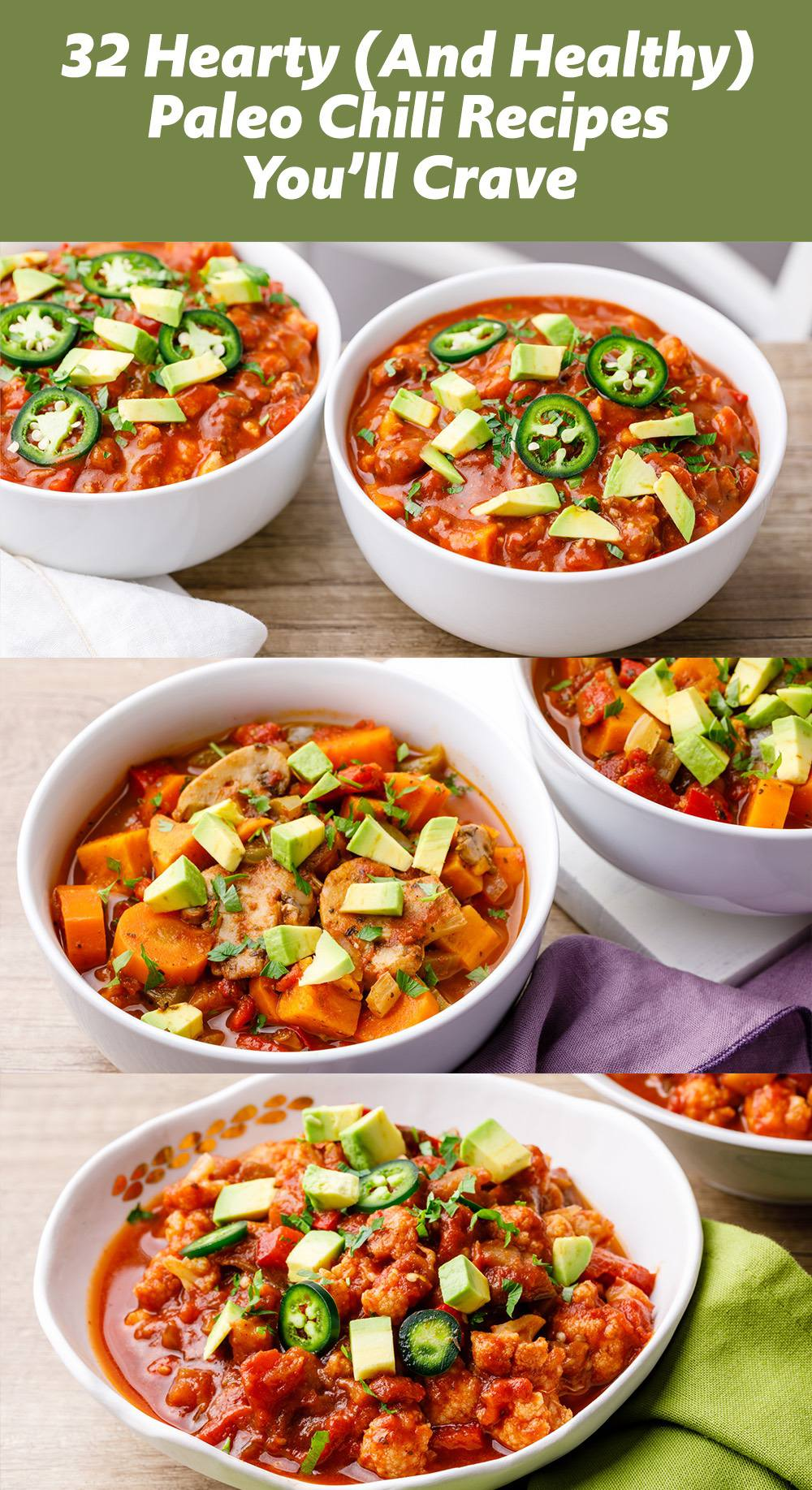 Try these easy, hearty and soul-satisfying paleo chili recipes!