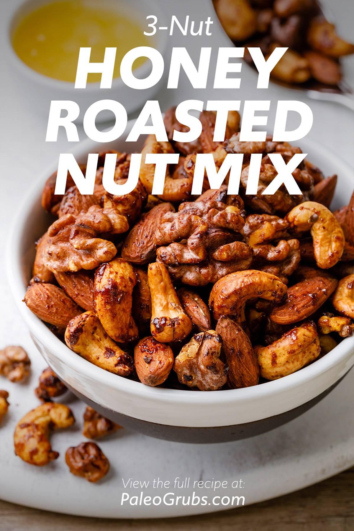 3-Nut Honey Roasted Nut Mix