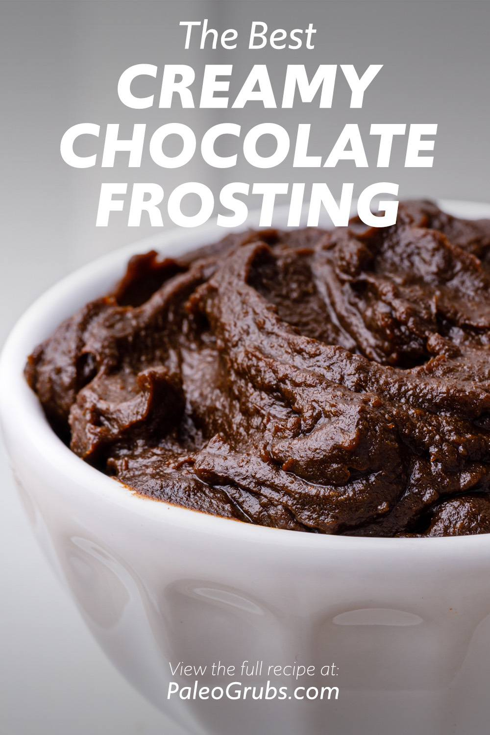 The Best Creamy Chocolate Frosting for Paleo Brownies and Cakes