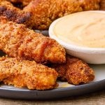 honey garlic chicken fingers