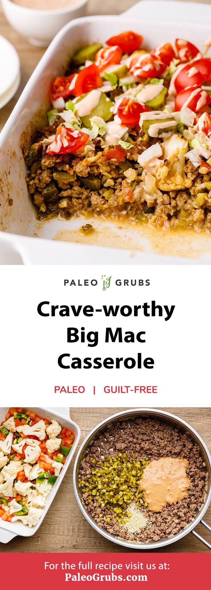 Big Mac Casserole
