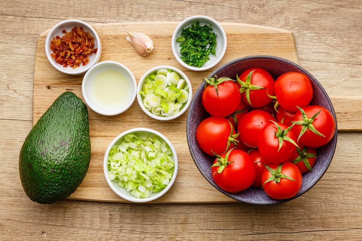 Blt Tomato Bites