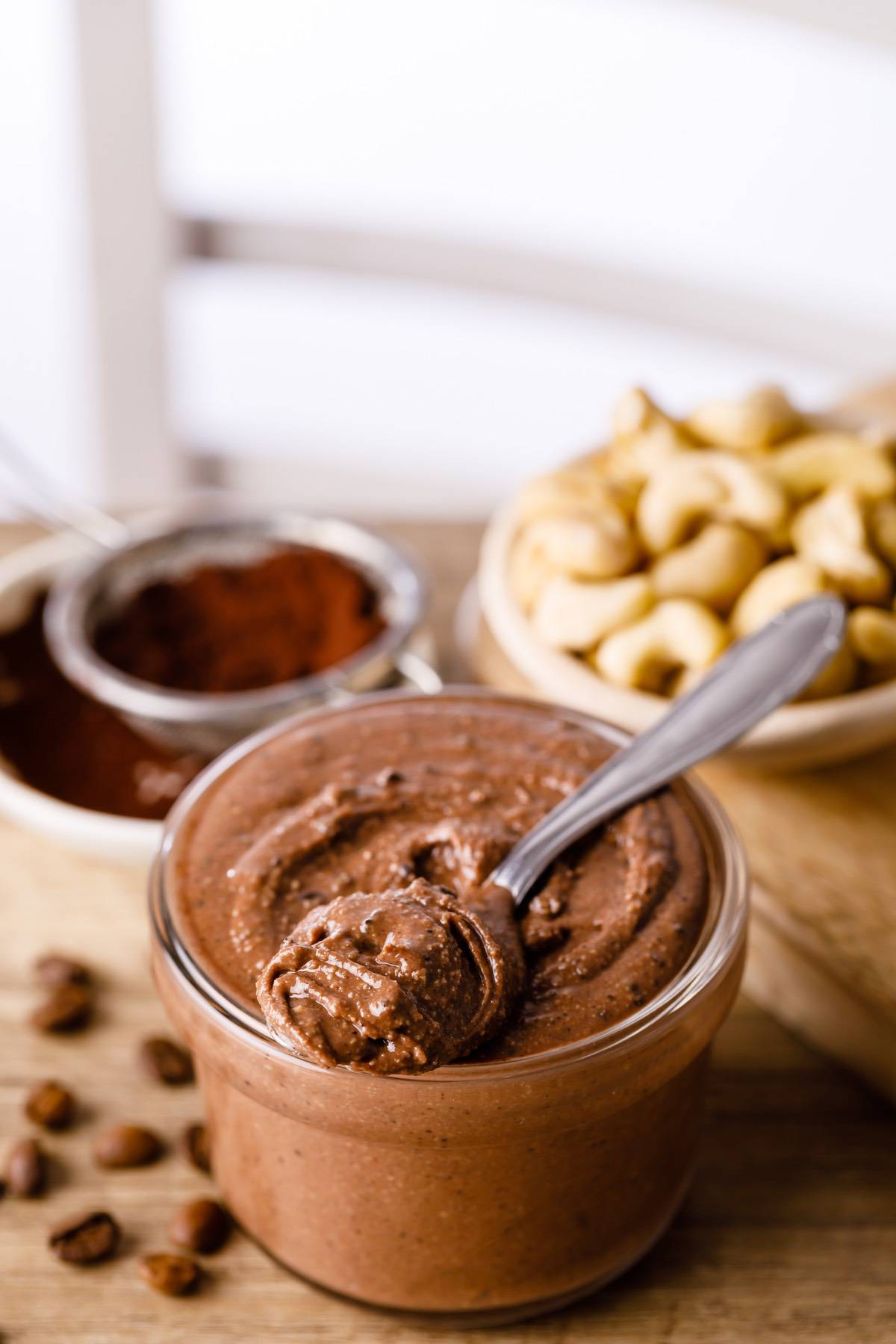 Home.fit espresso-cashew-butter-4 Spreadable Espresso Cashew Butter (Good on everything!)