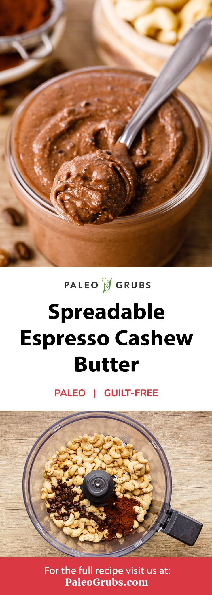 Home.fit espresso-cashew-butter Spreadable Espresso Cashew Butter (Good on everything!)