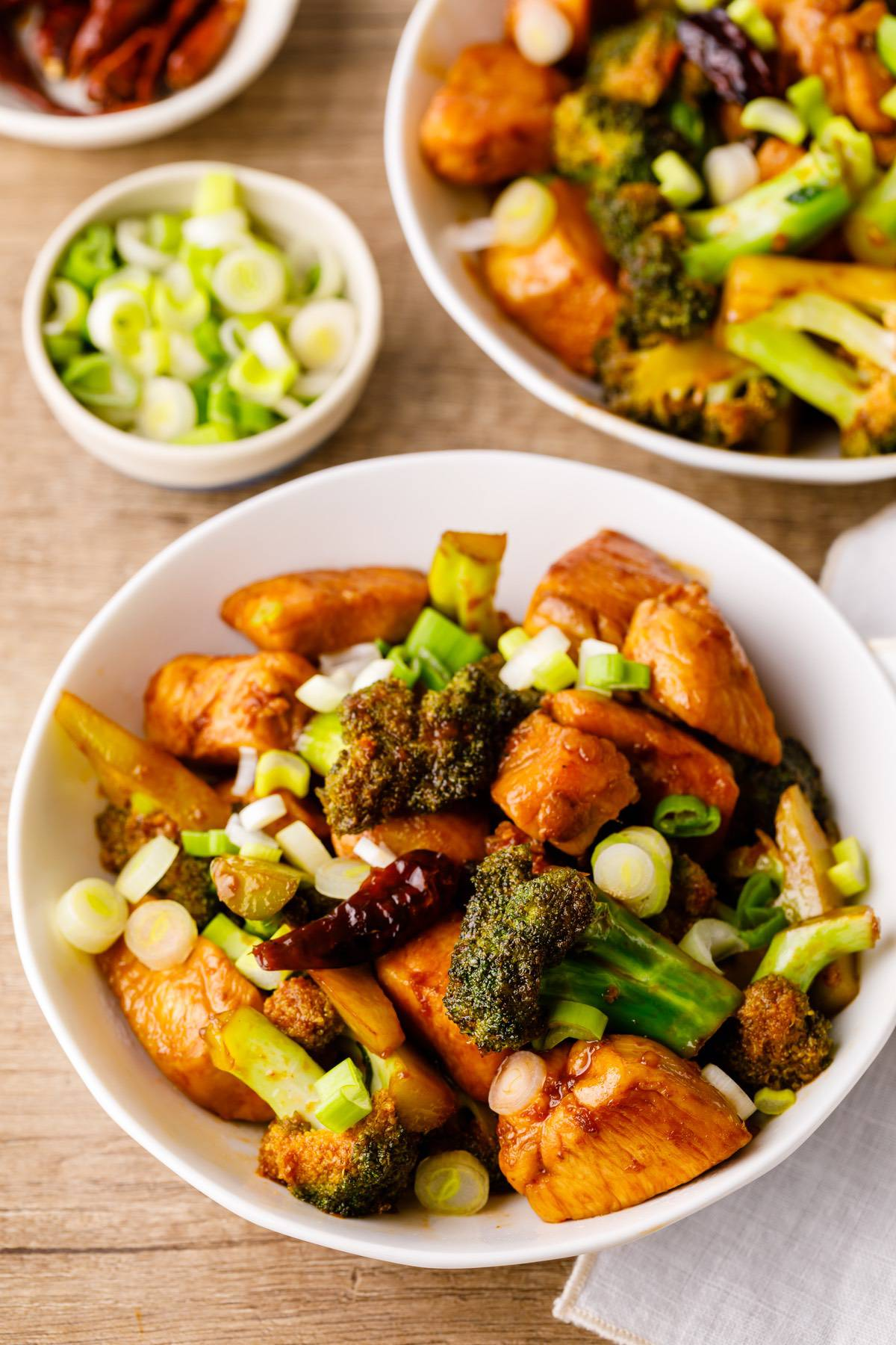Home.fit general-tsos-chicken-skillet-4 One Pan General Tso's Chicken Skillet (Healthy Copycat)