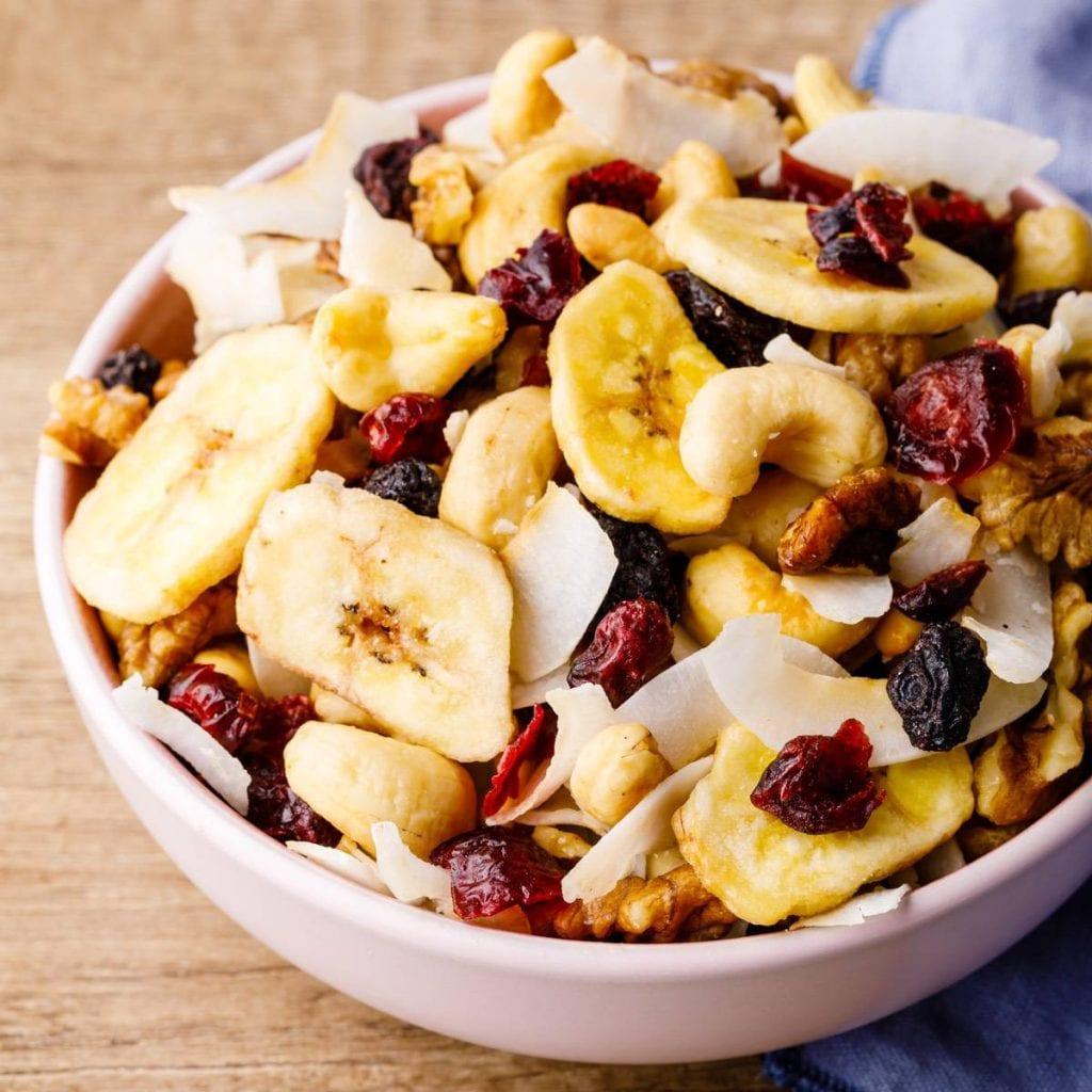 Honey Nut Dessert Trail Mix