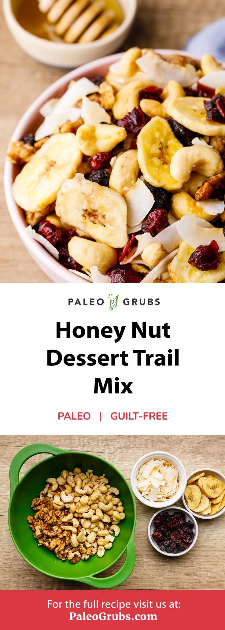 Home.fit honey-nut-dessert-trail-mix Honey Nut Dessert Trail Mix (Healthy and Nourishing)