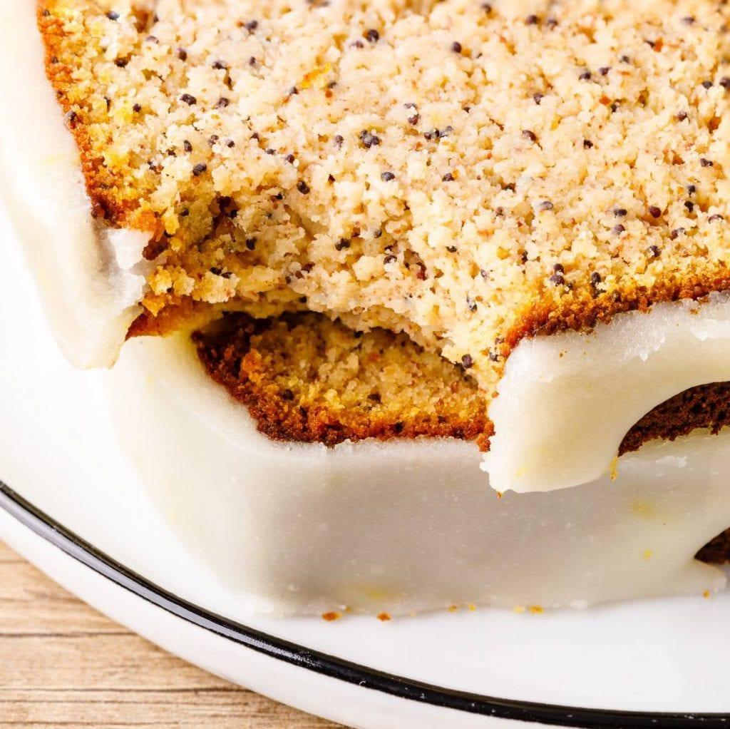 Lemon Poppy Seed Paleo Bread